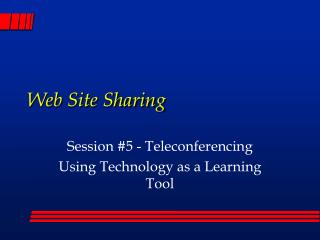 Web Site Sharing