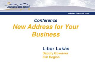 Conference  New Address for Your Business