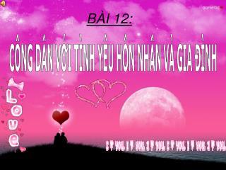 BÀI 12: