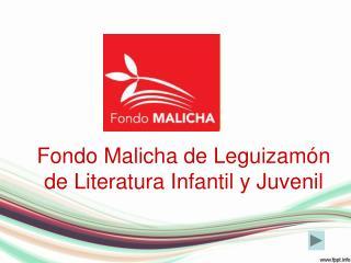 Fondo Malicha de Leguizamón de Literatura Infantil y Juvenil
