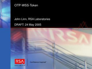 OTP-WSS-Token