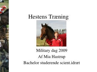 Hestens Træning