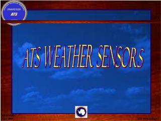 ATS Meteorology  1