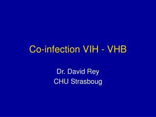 Co-infection VIH - VHB