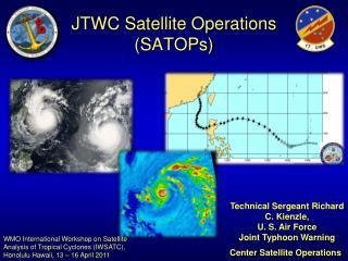 JTWC Satellite Operations (SATOPs)
