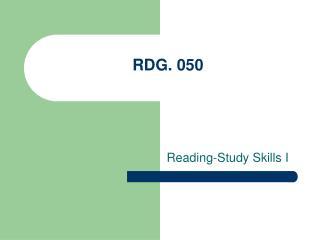 RDG. 050