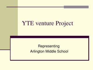 YTE venture Project