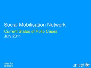 Current Status of Polio Cases July 2011