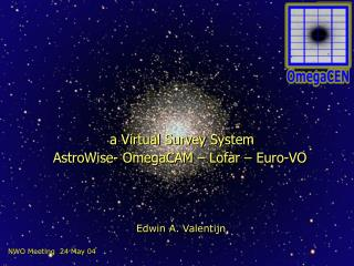 a Virtual Survey System AstroWise- OmegaCAM – Lofar – Euro-VO