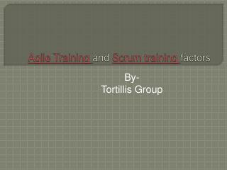 Agile Training and Scrum training factors