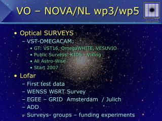 VO – NOVA/NL wp3/wp5