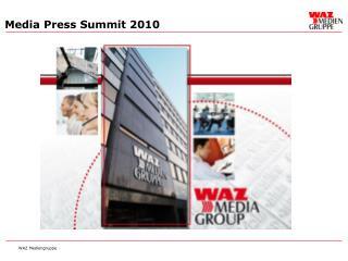 Media Press Summit 2010