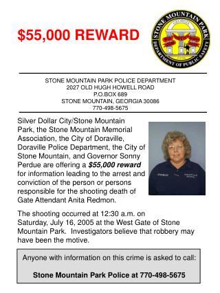 $55,000 REWARD