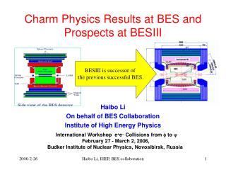 Charm Physics Results at  BES  and Prospects at BESIII