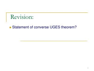 Revision: