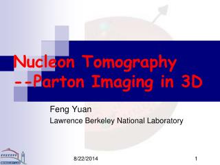 Nucleon Tomography --Parton Imaging in 3D