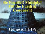 Genesis 11.1-9