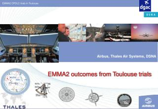 EMMA2 outcomes from Toulouse trials