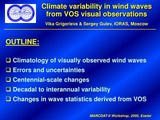 Climate variability in wind waves from VOS visual observations