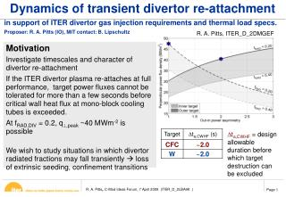 Dynamics of transient divertor re-attachment