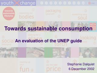 Towards sustainable consumption  An evaluation of the UNEP guide