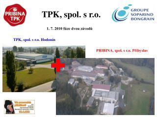 TPK, spol. s r.o.