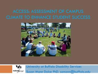 ACCESS: Assessment of Campus Climate to Enhance Student Success