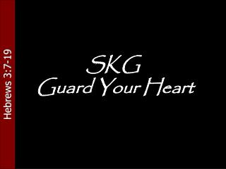 SKG  Guard Your Heart
