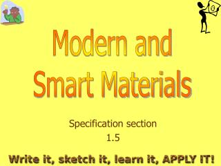 Specification section 1.5