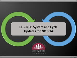 LEGENDS System and Cycle  Updates for 2013-14