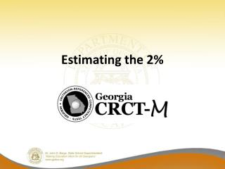 Estimating the 2%