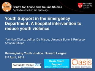 Youth Support in the Emergency Department: A hospital intervention to reduce youth violence