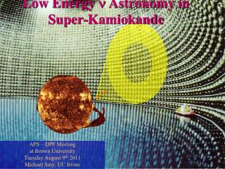 Low Energy  n  Astronomy in Super-Kamiokande
