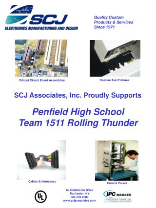 SCJ Associates, Inc. Proudly Supports