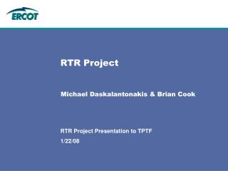 RTR Project