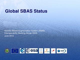 Global SBAS Status