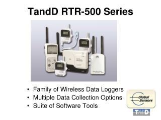 TandD RTR-500 Series