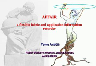 AFFAIR a flexible fabric and application information recorder