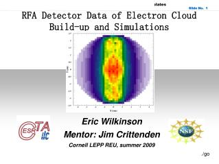 RFA Detector Data of Electron Cloud Build-up and Simulations