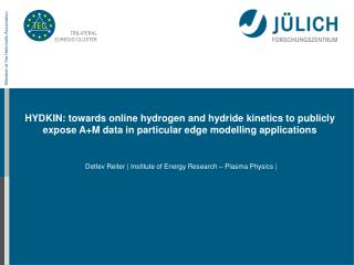 HYDKIN: towards online hydrogen and hydride kinetics to publicly