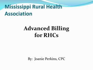 Mississippi Rural Health Association