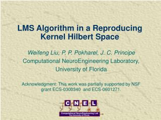 LMS Algorithm in a Reproducing Kernel Hilbert Space