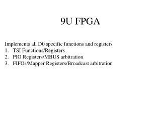 9U FPGA