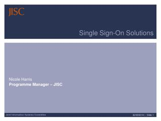 Single Sign-On Solutions