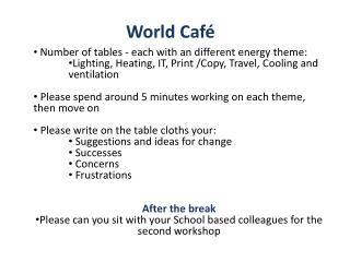 World Caf