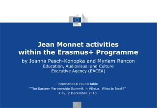 "International round table ""The Eastern Partnership Summit in Vilnius. What is Next?"""