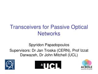 Transceivers for Passive Optical Networks
