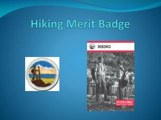 Hiking Merit Badge
