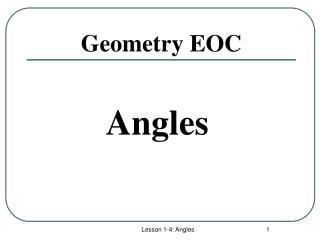 Geometry EOC
