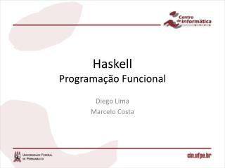 Haskell Programação Funcional